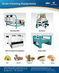 grain cleaning equipments