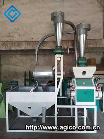 6FX-50 maize flour milling machine