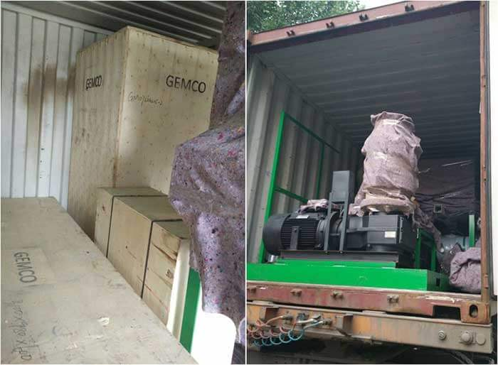 MPL300 small mobile pellet plant successfully delivered