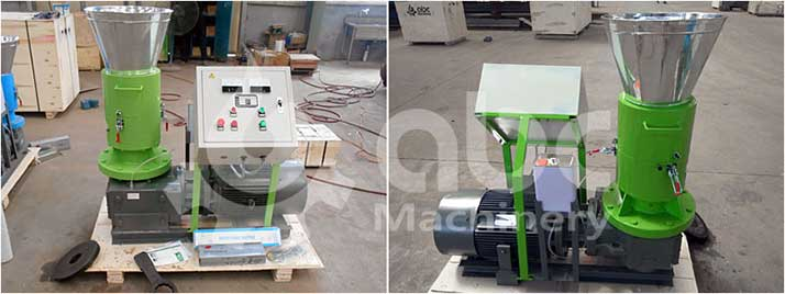 ZLSP-R 300B model home use small pellet mill