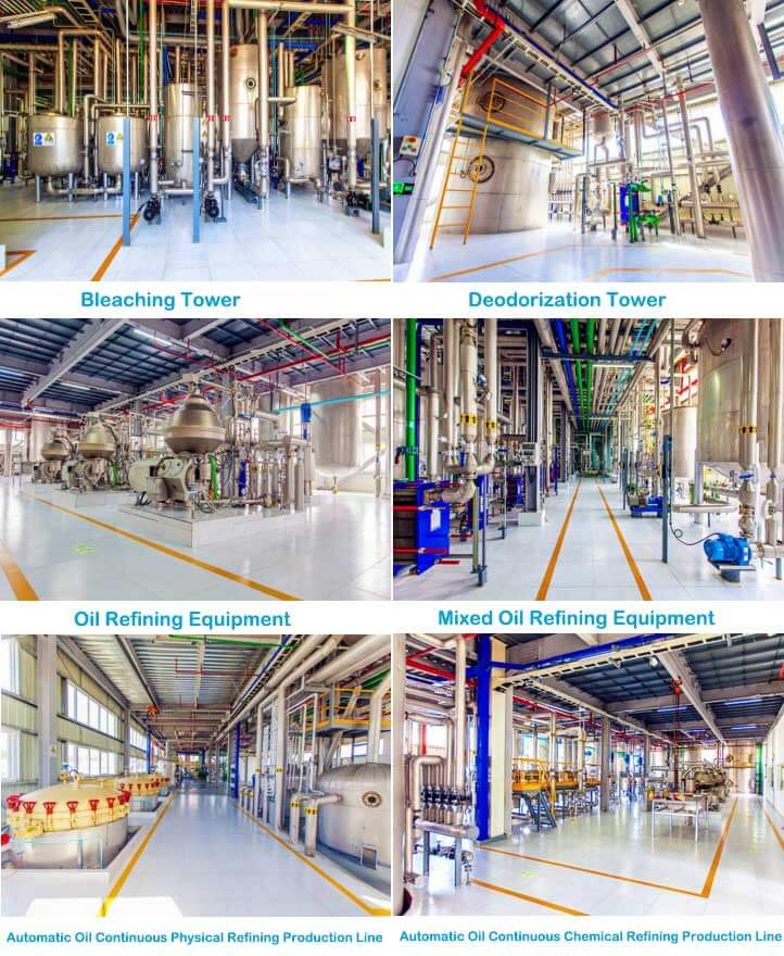 characteristic refining engineering equipments