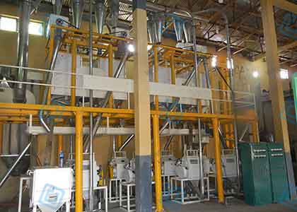 40T/D Wheat Flour Milling Plant Project For Ethiopia