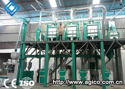 50TPD Corn Processing Unit In Angola