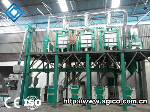 Corn Processing Unit In Angola