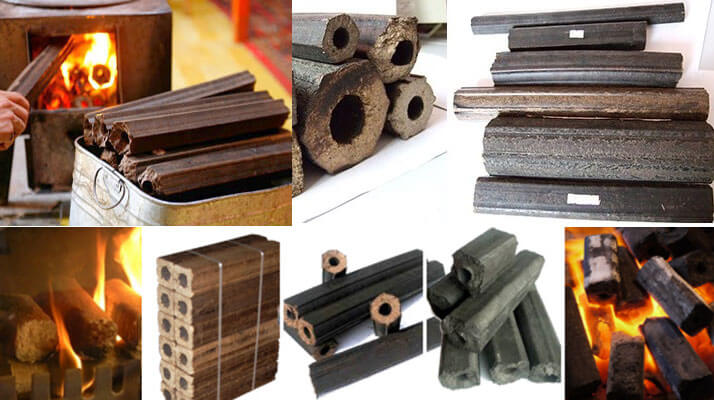 fuel briquettes made by screw briquetting machine