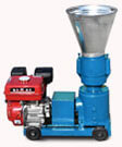 gasoline engine pellet mill