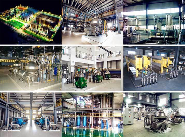 oil refining plant for different oil