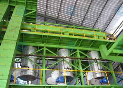 40TD Palm Oil Pressing And Refinery Plant Project In Indonesia