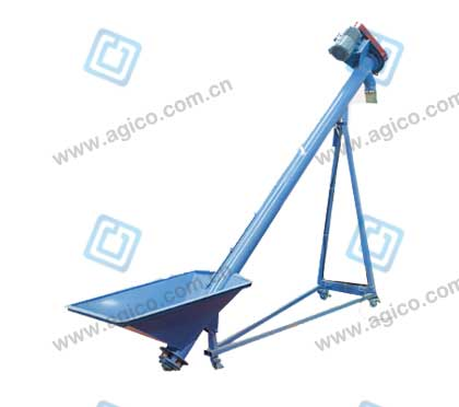 Screw conveyor for small wood pellet plant