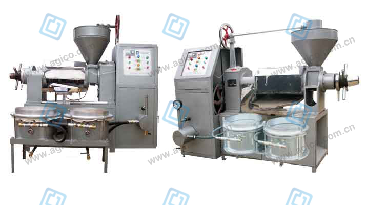 small automatic oil press