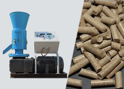 Small Wood Pellet Mill