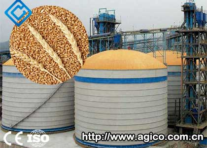 6000tons Of Steel Wheat Storage Silo Was Successfully Built In Baoding