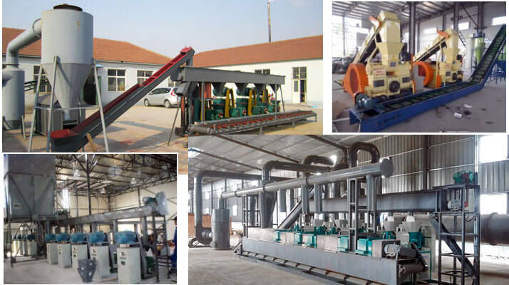 technical innovation of fuel briquetting plant